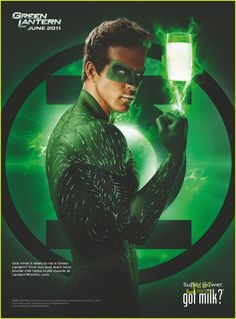 got milk? ads -Ryan Reynolds,  \  The Green Lantern