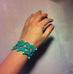 Gehäkeltes Armband Nr. 3