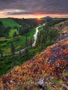 Palouse River Sunset, Ryan McGinty