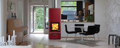 Another modern fire place