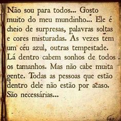 Story of my life Favorite Quotes, Best Quotes, Life Quotes, More Than Words, Some Words, Portuguese Quotes, Thoughts And Feelings, Sentences, Quotations