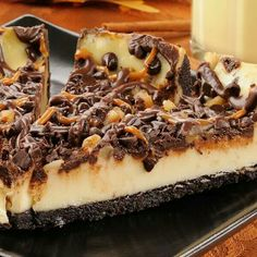 Oreo turtle cheesecake