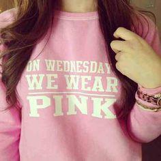Mean Girlz Sweater. Pink. Soo cute! Teen Fashion. By- Lily Renee♥ (iheartfashion14)
