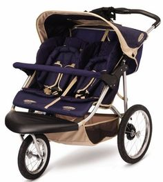 InStep Safari Swivel Double Jogging Stroller (Blue/Khaki)  http://buycheapfurnituresales.com/buy-veratex-legacy-collection-500-thread-count-king-sheet-set-taupe