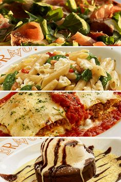 Treat the foodie in you with bites of these Italian dishes I Love Food, Good Food, Yummy Food, My Favorite Food, Favorite Recipes, Best Italian Recipes, Pasta, Entree Recipes, Italian Dishes