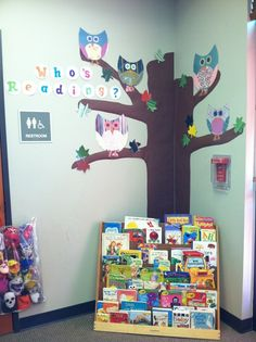 Classroom Bulletin Board Owls | Who's Reading Owl bulletin board from our ... | Owl Classroom Decor                                                                                                                                                                                 More