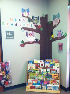 Classroom Bulletin Board Owls | Who's Reading Owl bulletin board from our ... | Owl Classroom Decor