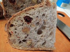 San Francisco-style Sourdough Bread with Walnuts and Sour Cherries | The Fresh Loaf