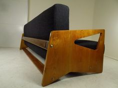 Sofa, Rajmund Hałas Funky Design, Design Art, Interior Design, Home Furniture, Furniture Design, Mid Century Furniture, Mid Century Design, Sofa Chair, School Design