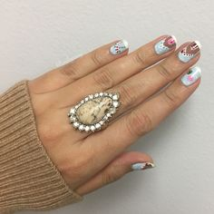Stunning African Plains statement ring is perfect for any season and any wardrobe   https://www.chloeandisabel.com/boutique/sonym/products/R150BGAG-6/african-plains-statement-ring    #jewelry #jewelryswag #jewelrygram #happyholidays #trendy # stylish # fashionblogger #whatiwore #rings #ring #chloeandisabel #cnibysony