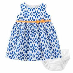 Carter's Geometric Dress - Baby