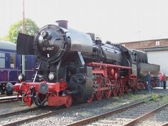 Deutsche Reichsbahn's Class 52 was a German steam locomotive built in large numbers during the Second World War. It was the most produced type of the so-called Kriegslokomotiven or Kriegsloks (war locomotives). The Class 52 was a wartime development of the pre-war DRG Class 50