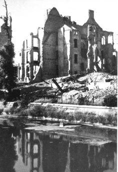 Berlin | 1933-45+. Nach der Schlacht von Berlin. Landwehrkanal 1945