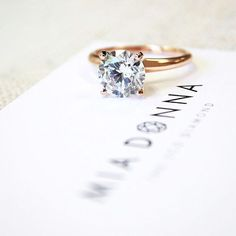 1000 images about solitaire engagement rings on