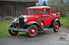 Ford : Model A 1931 Ford Model A Coca Cola Pickup - http://www.legendaryfinds.com/ford-model-a-1931-ford-model-a-coca-cola-pickup/