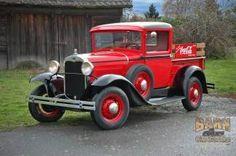 Ford : Model A 1931 Ford Model A Coca Cola Pickup - http://www.legendaryfinds.com/ford-model-a-1931-ford-model-a-coca-cola-pickup/
