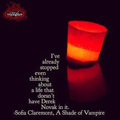 Derek Novak & Sofia Claremont 💖💖💖in A Shade Of Vampire