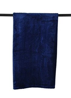 """DII Bone Dry Warm, Soft, Plush, Pet Throw Blanket for Couch, Car, Trunk, Cage, Kennel, Dog House, 36x48"""", Navy >>> Read more reviews of the product by visiting the link on the image."""