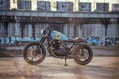 GS450 Cafe Racer by Wrench Kings of The Netherlands.