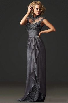 Find More Mother of the Bride Dresses Information about High Neck Mother Of The…