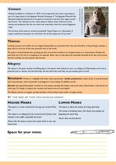 AQA Power and Conflict Poetry Revision Guide