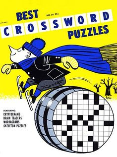 crossword puzzle book - Mom