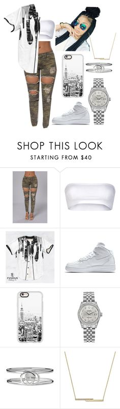 """""""Camo"""" by duhhqueen ❤ liked on Polyvore featuring Missoni, NIKE, Casetify, Rolex, Gucci and ZoÃ« Chicco"""