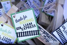 All Aboard the Liam Express!, train themed party, train party