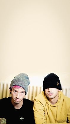 For every Twenty One Pilots song - Iomoio Tyler Y Josh, Josh Dun, Tyler Joseph, Emo Bands, Music Bands, Twenty One Pilots Wallpaper, Staying Alive, My Boys, Good Music