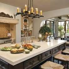Mediterranean Kitchen Spanish Tile Design, Pictures, Remodel ...