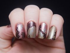 Chalkboard Nails: OPI Pure Lacquer Nail Apps - Reptile