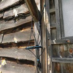 Fancy training halter with extra knots. https://homesteadtack.com/product/fancy-natural-horsemanship-rope-halter/