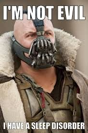 speak like bane with cpap mask