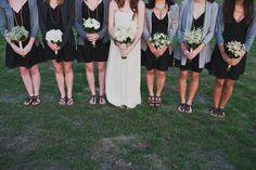 Casual wedding style