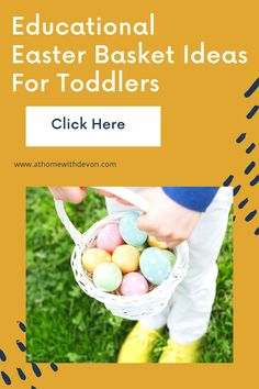 Educational Easter Basket Ideas For Toddlers. These Easter basket fillers are great learning toys for toddlers. #Easterbasket #toddlers #Easterbasketideas #toddlergirl #toddlerboy #learningtoys #toys #toddlertoys #Easter #educationaltoys Toddler Learning Activities, Easter Activities, Learning Toys, Family Activities, Easter Baskets For Toddlers, Puzzles For Toddlers, Games For Toddlers, Toddler Arts And Crafts, Spring Crafts For Kids