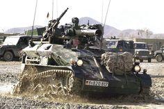 German Bundeswehr soldiers in Afghanistan, Waffenträger Wiesel TOW (weapon-carrier Wiesel TOW)