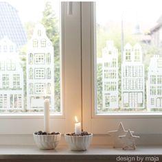 """Fenstertattoo """"Amsterdam"""". I love it. Jetzt auf dawanda zu kaufen"""