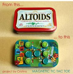 magnetic tic tac toe (busy bag?)
