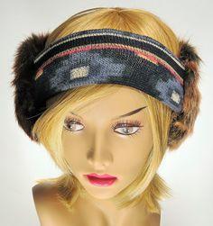 Bandies. Faux Fur Ear Warmers.  Headband Ear Muffs. by TheBandies