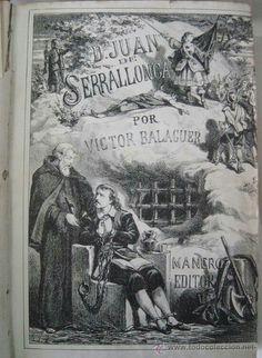 1877. Litografia de Labiellede l'obra de Serrallonga de Víctor Balaguer
