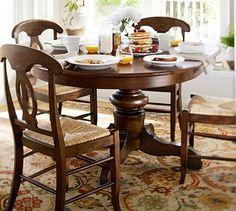 Tivoli Extending Table & Napoleon Chair Set #potterybarn