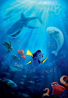 Finding Dory is Pixar's seventeenth feature film. It is the sequel to Finding Nemo. It was released in theatres on June 17, 2016, and will be celebrating Pixar's 30th anniversary. The Pixar short Piper is attached to the film. Official synopsis: