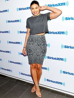 Star Tracks: Thursday, October 2, 2014 | GREY MATTER | Newly single Jordin Sparks shows off her toned tummy while promoting her film Left Behind at SiriusXM studios on Wednesday in New York City.
