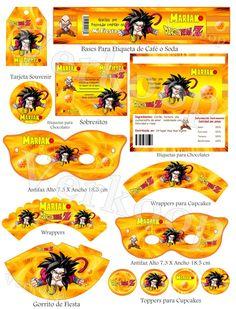 Goku, Dbz, Superhero Birthday Party, Birthday Parties, Dragon Ball Z, Fiestas Party, Birthdays, Google, Inspiration