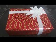 Diagonal Gift Wrapping - YouTube