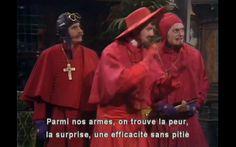 Spanish Inquisition.