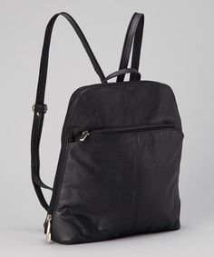 Take a look at this Black Backpack by RICKI DESIGNS on #zulily today!
