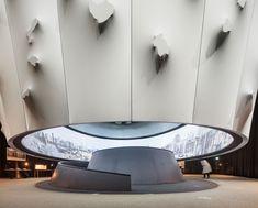 Museum Architecture, Amazing Architecture, Desert Design, Space Museum, Lobby Design, Exhibition Display, Concept Board, Design Museum, Commercial Design