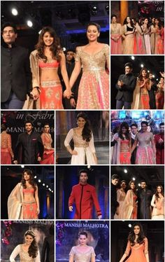 A glimpse of the celebrities that graced the occasion by walking the ramp of #Mijwan