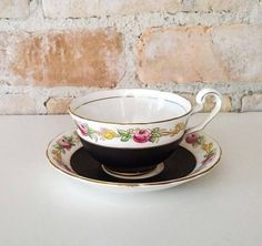 Vintage Victorian Cartwright and Edwards Bone China by NoVeto
